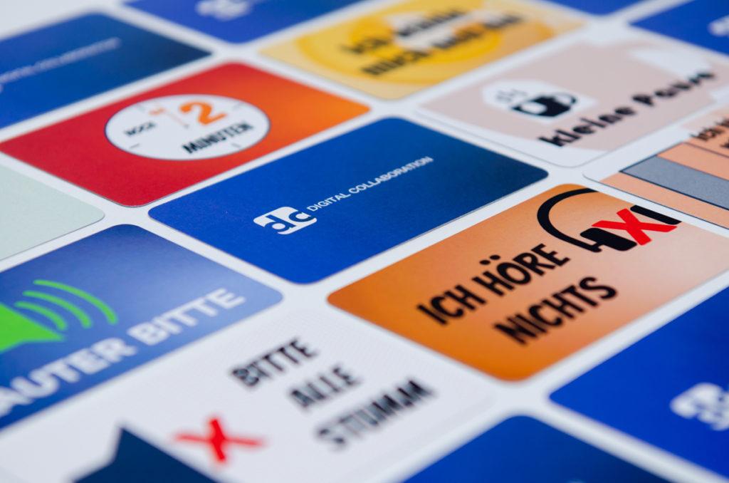 Digital Collaboration Cards